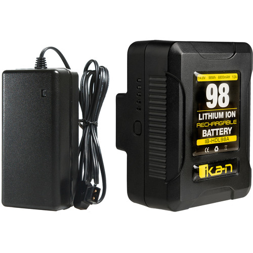 ikan IB-HDL98 Compact Battery and Charger Kit (Gold Mount)
