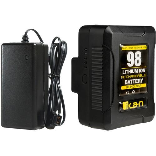 ikan IB-HDL98 Compact Battery and Charger Kit (V-Mount)