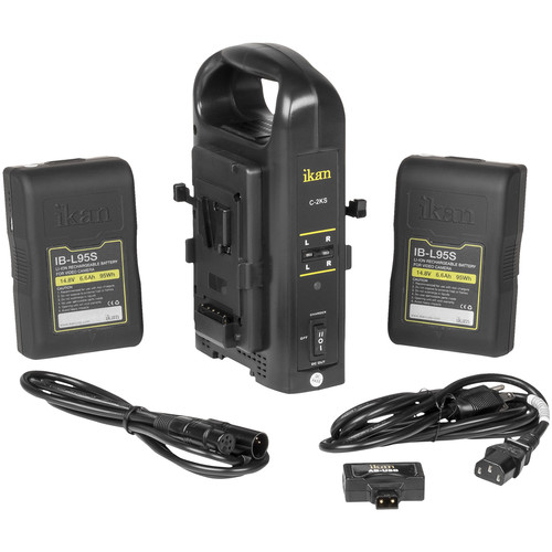 ikan Dual Pro Battery Charger Kit