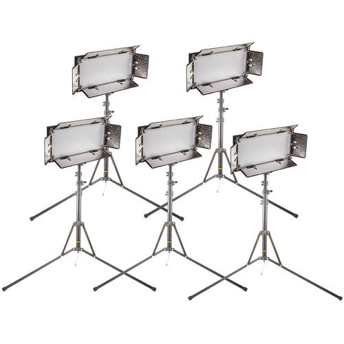 ikan CHR550-v2 ID508-v2 LED Studio 5-Light Kit