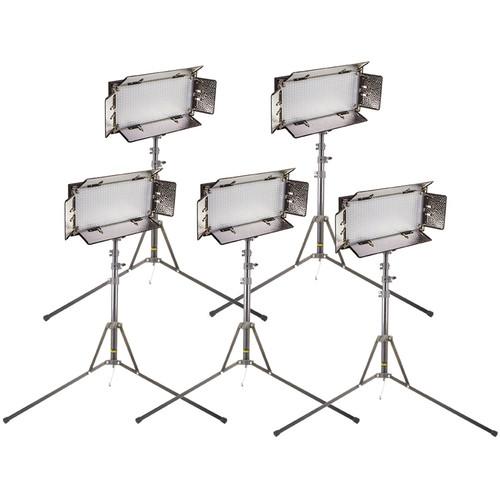 ikan CHR550-v2 IB508-v2 LED Studio 5-Light Kit