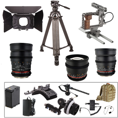 ikan Complete Tilta Video Production Kit for Sony a7S