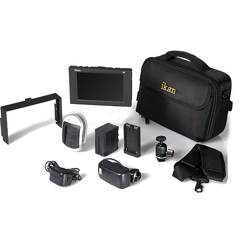 ikan D5 Field Monitor Deluxe Kit (Nikon EN-EL15 Type)