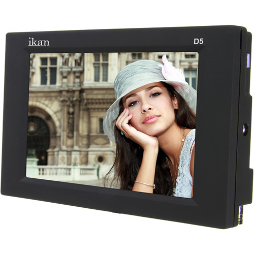 """ikan D5 5.6"""" On Camera Monitor with EN-EL15 Battery Plate"""