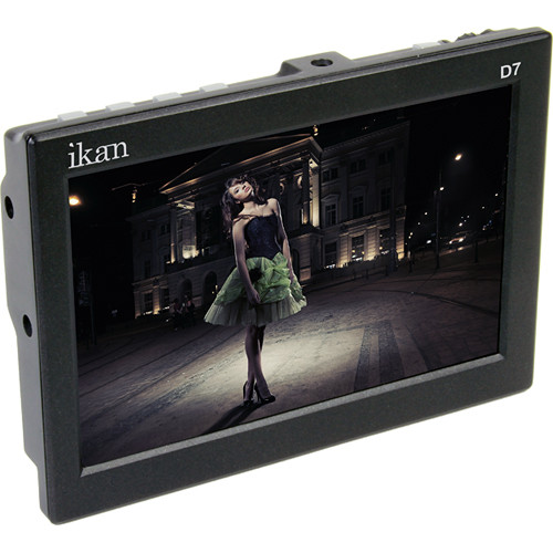 "ikan D7 7"" 3G-SDI/HDMI LCD Field Monitor with Nikon EN-EL 15 Type Batt Plate"