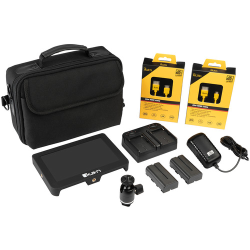 "ikan Delta 7"" 4K HDMI On-Camera Monitor Deluxe Kit"
