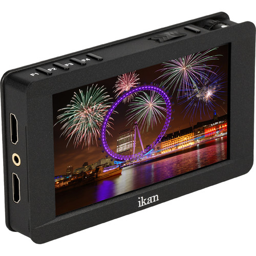"""ikan DH5e 5"""" Full HD HDMI On-Camera Monitor with Touchscreen & 4K Support"""