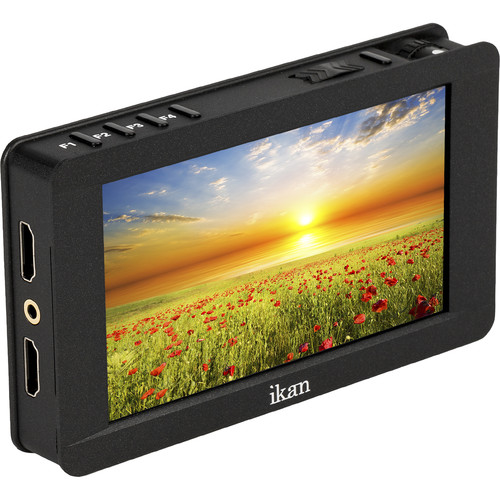 """ikan Delta 5"""" On-Camera 4K HDMI Monitor with 3D LUT Support"""