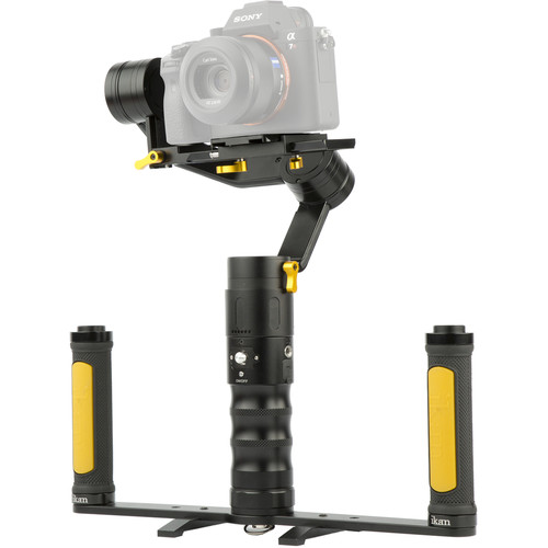 ikan DS2-A Beholder Angled 3-Axis Gimbal Stabilizer and Dual-Grip Handle Kit