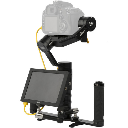 ikan DS2-A Beholder 3-Axis Gimbal & DH7 Monitor Kit with Panasonic D54-Series Battery