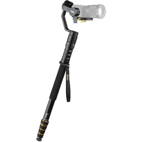 ikan DS2 Beholder 3-Axis Gimbal and 5-Section Monopod Extension Kit