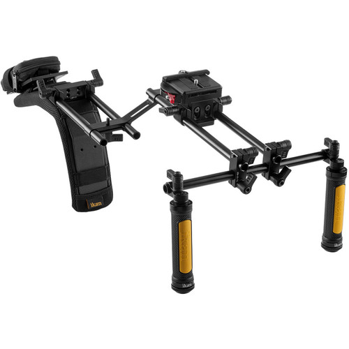 ikan Offset Shoulder Rig Turnkey Kit with Follow Focus & Viewfinder for Select Canon DSLR