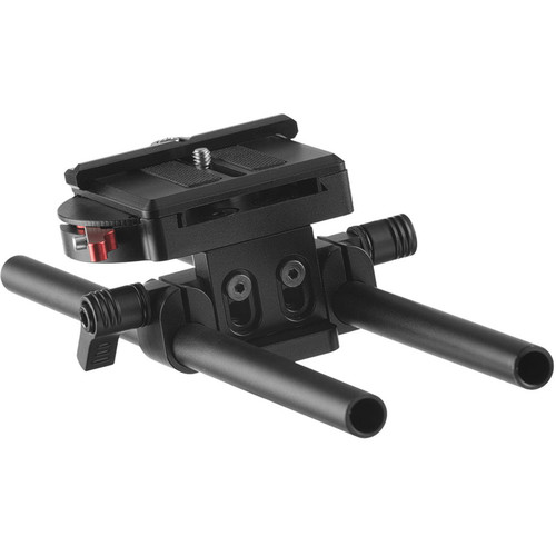 ikan EV3 Quick Release DSLR Baseplate with 15mm Rods