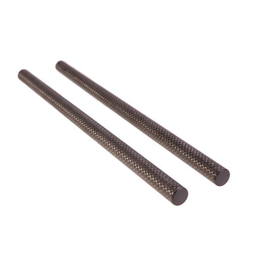 "ikan Elements Plus 15mm Carbon Fiber Rods (Pair, 12"")"
