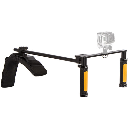 ikan GoPro & Blackmagic Pocket Cinema Camera Shoulder Rig