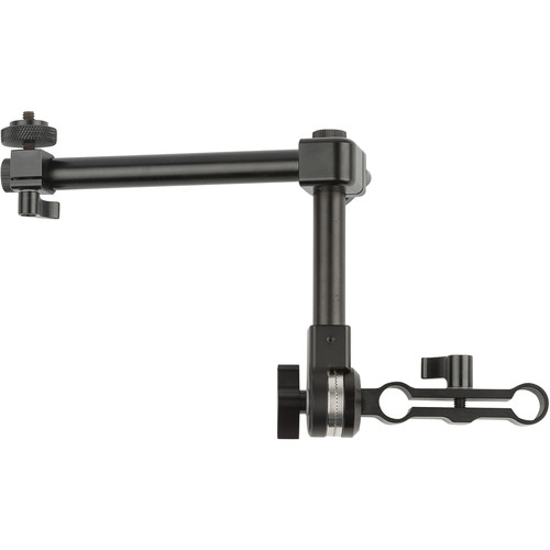 ikan Accessory Arm with Dual 15mm Rod Rosette Pivot Mount