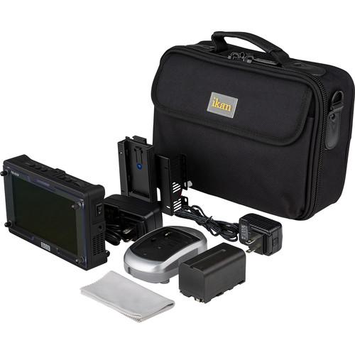 ikan FM-055F 3G-SDI/HDMI Full HD On-Camera Monitor Deluxe Kit