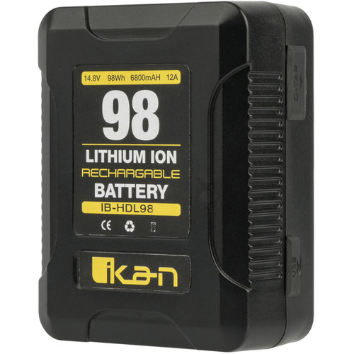 ikan 98Wh 14.8V Compact High-Draw Li-ion Professional Battery (Gold Mount)