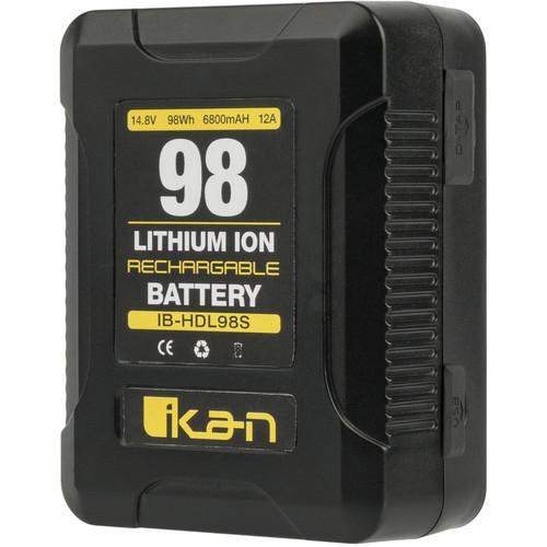 ikan 98Wh 14.8V Compact High-Draw Li-Ion Professional Battery (V-Mount)