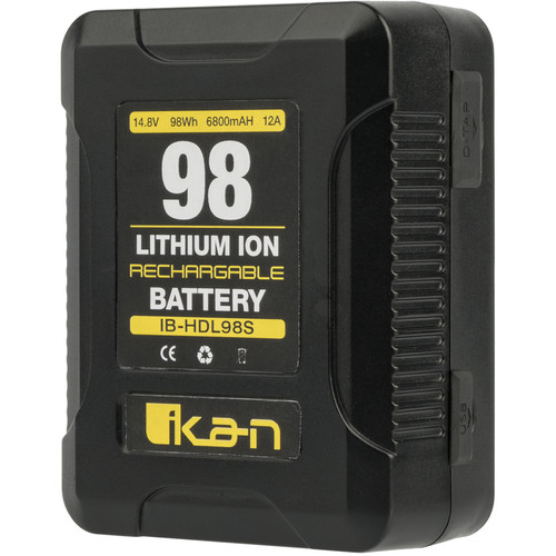 ikan 98Wh 14.8V Compact High-Draw Li-ion Professional Battery (V-Mount)