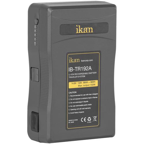 ikan Traveler Series Li-Ion Pro 14.8V Battery (2 x 96Wh/13Ah, Gold Mount)