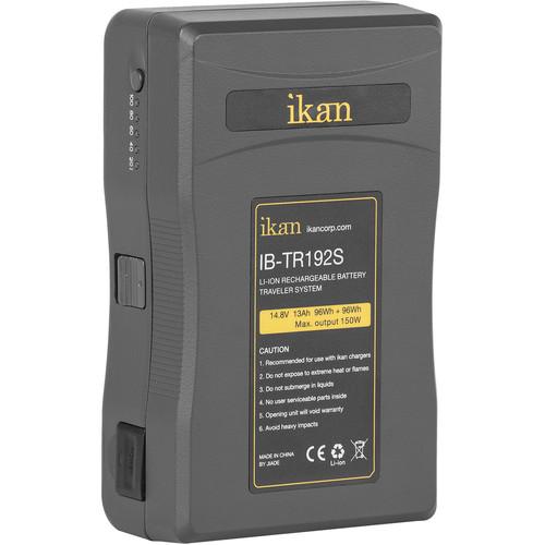 ikan Traveler Series Li-Ion Pro 14.8V Battery (2 x 96Wh/13Ah, V-Mount)