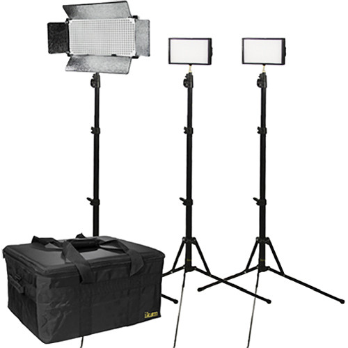 ikan 3 Light Dual Color Interview Kit