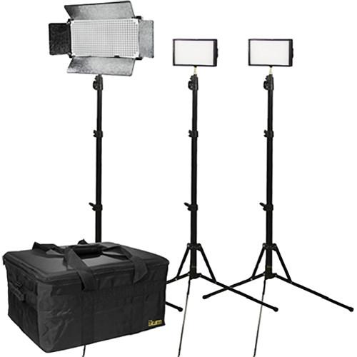 ikan 3 Light Dual Color Interview Kit
