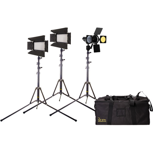 ikan IBK2316 Flyweight 3-Point Interview Light Kit