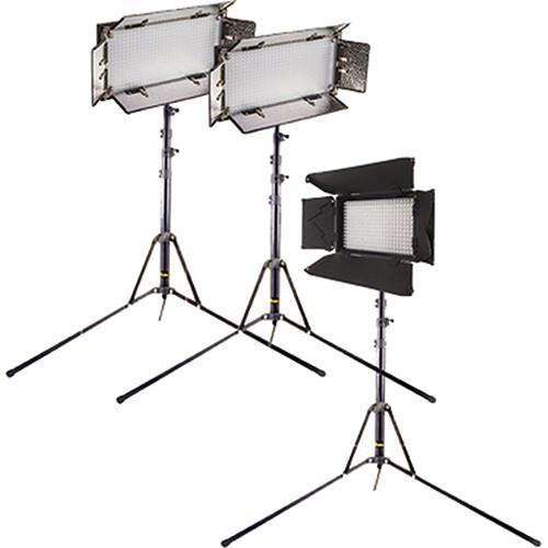 ikan Bi-Color 2x IB508-v2, 1x iLED312-v2 LED Interview Kit