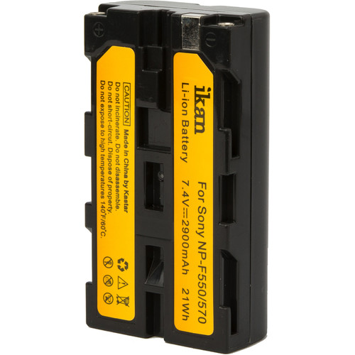 ikan NP-F550 L-Series Compatible Battery (7.4V, 2900 mAh)
