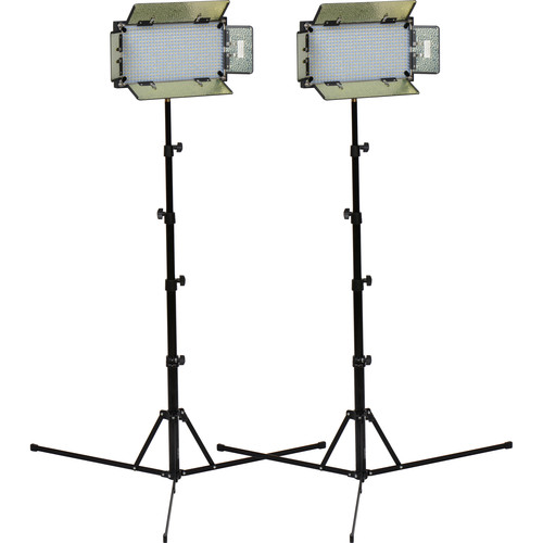 ikan ID508-v2 LED Daylight 2 Studio Light Kit