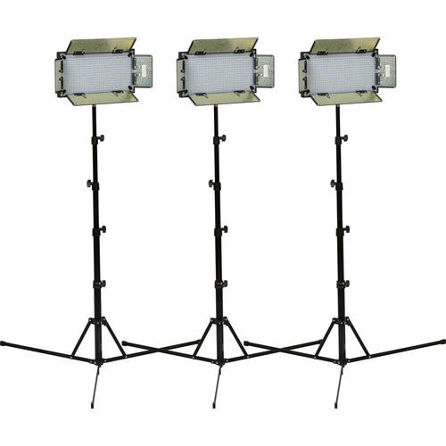ikan ID508-v2 LED Daylight 3 Studio Light Kit