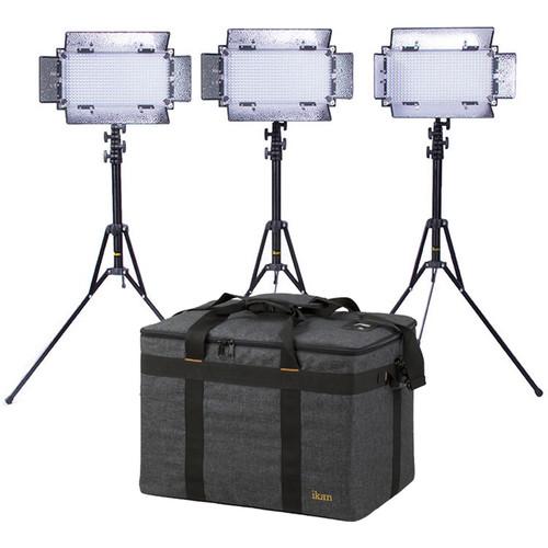 ikan ID508-v2 Daylight 3-Point LED Light Kit