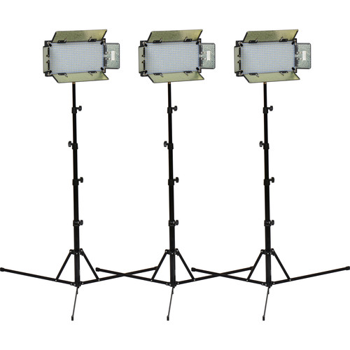 ikan ID508-v2 LED Daylight 3 Studio Light Kit