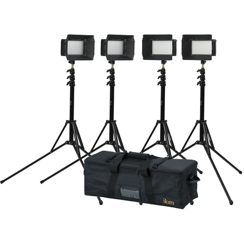 ikan ILED312-V2 Bi-Color LED 4-Light Kit