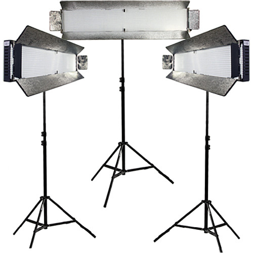 ikan IDMX1500B Dual-Color 3-Point Light Kit