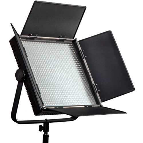 ikan IFD1024-SP Featherweight Daylight LED Spot Fixture with AB and V-Mount Plates