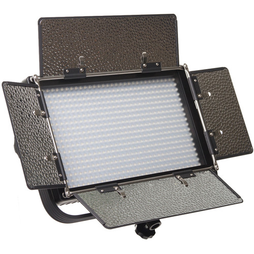 ikan IFD576 Featherweight Daylight LED Flood Fixture with AB and V-Mount Plates