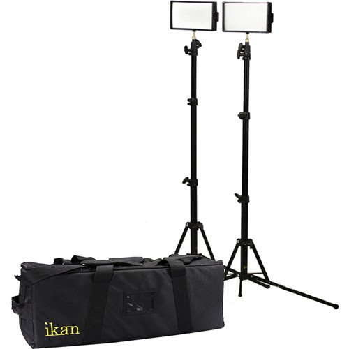 ikan iLED312-SB 2-Point Bi-Color Spot Light Kit
