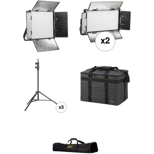 ikan Lyra Bi-Color 1-LB10, 2-LB5 3-Point Light Kit