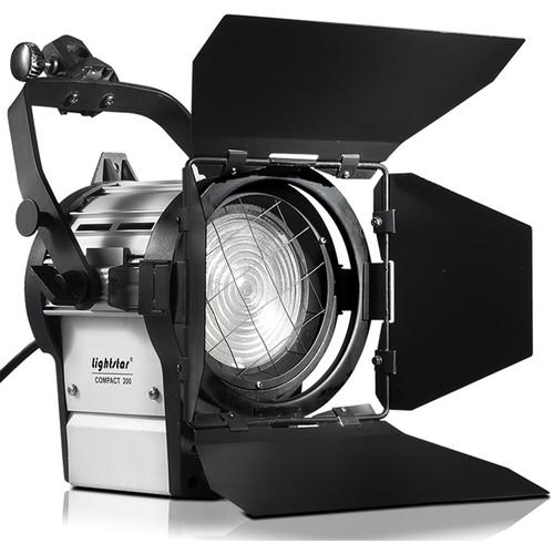 ikan Lightstar 200W HMI Fresnel Light Kit with Electronic Ballast