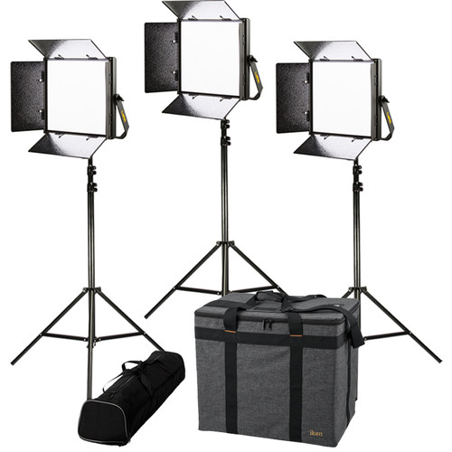 ikan Lyra LW10 Daylight 3-Point LED Light Kit