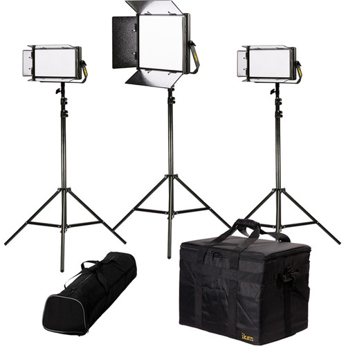 ikan Lyra Daylight 3-Point LED Soft Panel Light Kit with 1x LW10 and 2x LW5