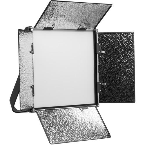 ikan Lyra LBX10 Bi-Color Soft Panel 1 x 1 Studio and Field LED Light with DMX