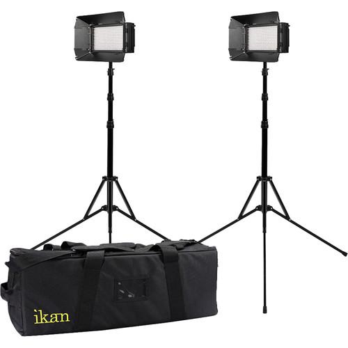 ikan Mylo Mini Bi-Color 2-Point Light Kit with 2 MB4 LED Lights