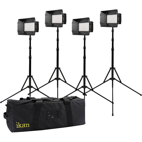 ikan Mylo Mini Bi-Color 4-Point Light Kit with 4 MB4 LED Lights