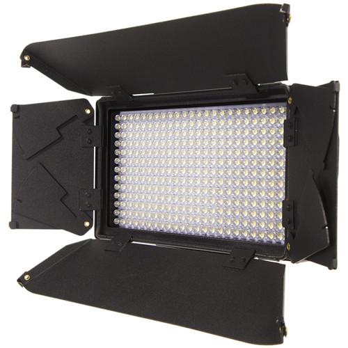 ikan Mylo MB4-TK Mini Bi-Color Portable Field LED Light Travel Kit with Barndoors