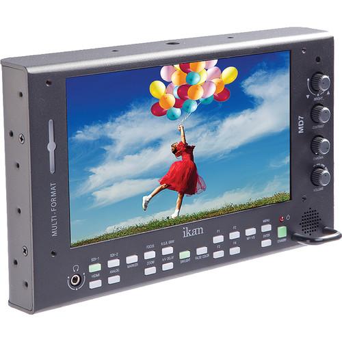 """ikan 7"""" High Brightness On-Camera LCD Monitor Version 2"""
