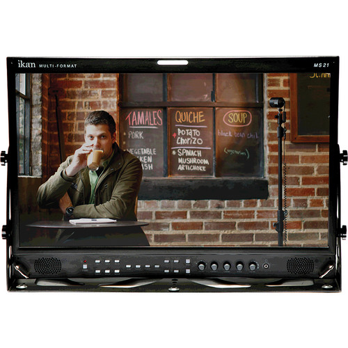 "ikan MS21 21.5"" SD/HD-SDI Studio Monitor"